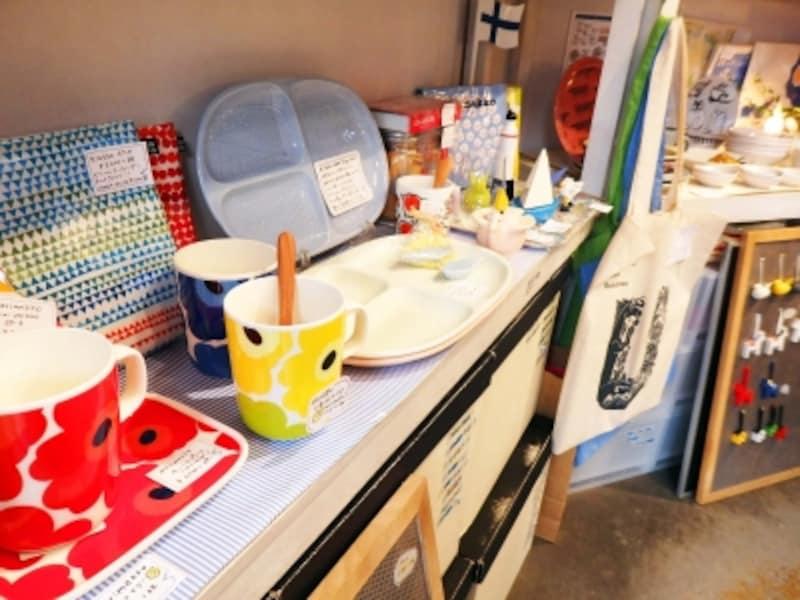 【鎌倉の雑貨屋】北欧柄のカップなどの商品