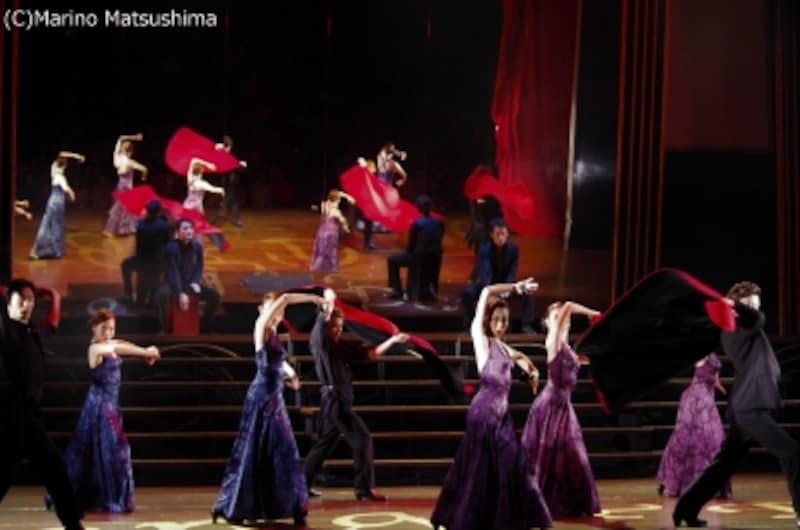 『ソング&ダンス65』より、フラメンコ(C)MarinoMatsushima