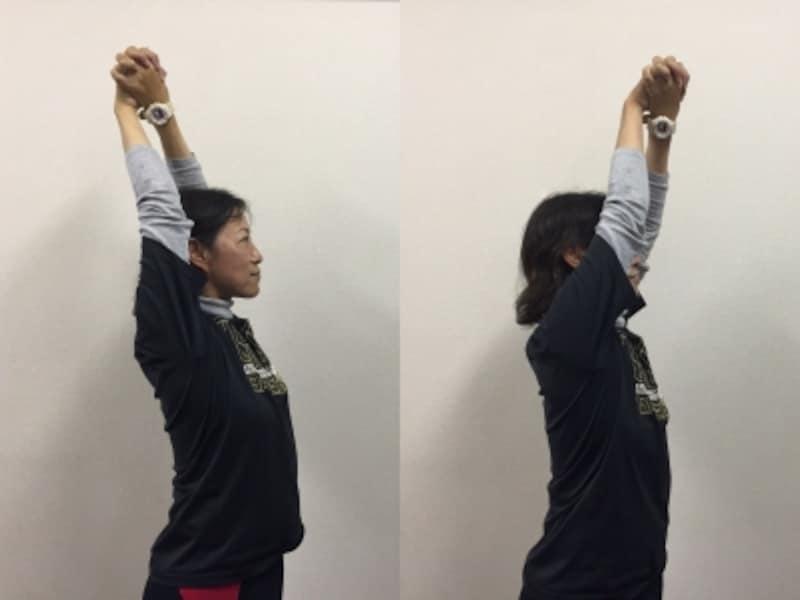 肩甲骨の動きチェック