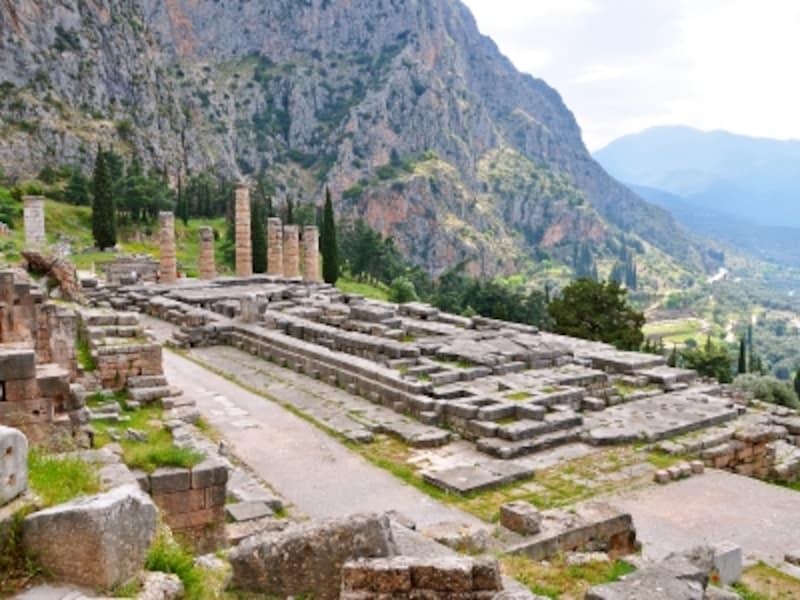 アポロン神殿跡