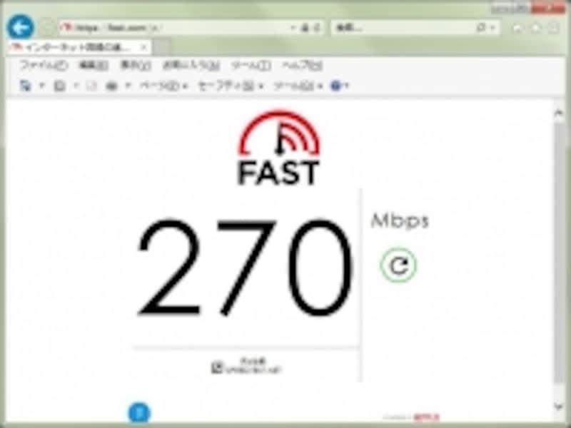 Fast.comサイト