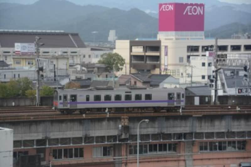 鳥取駅付近