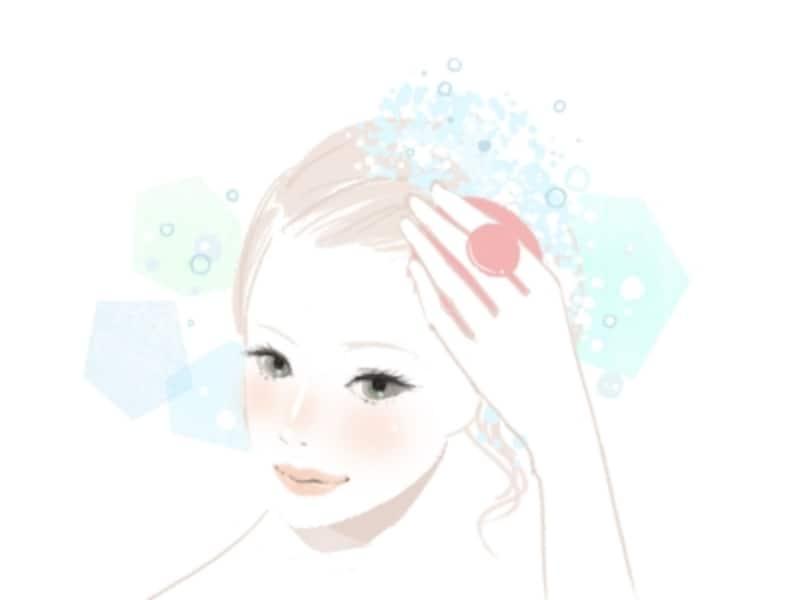 40代女性の薄毛対策、まずは頭皮マッサージから!