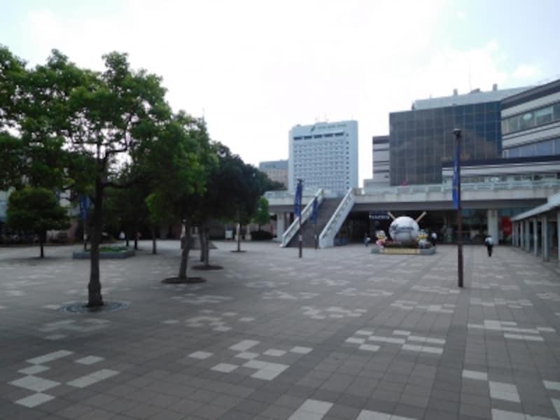 幕張新都心の商業エリア