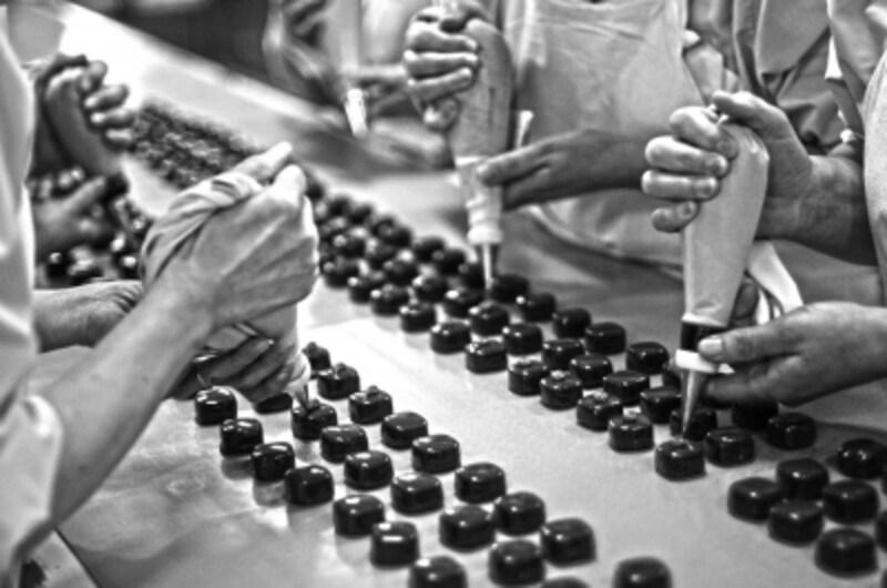 ボンボンショコラの製造も自社で