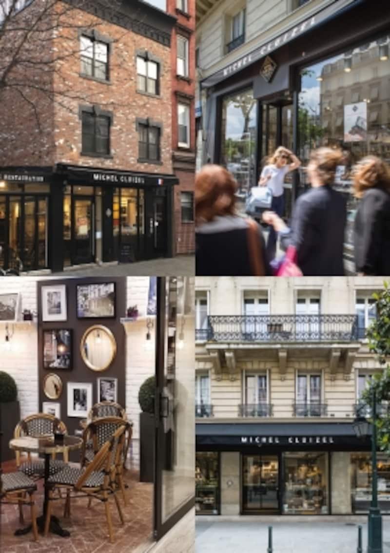 パリにある4店舗はどこもスタイリッシュ