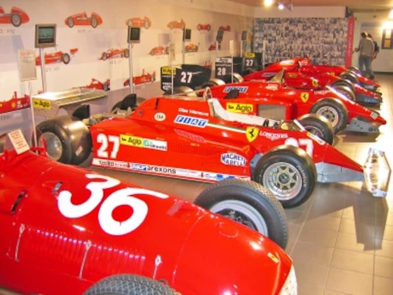 フェラーリ博物館のF1マシン
