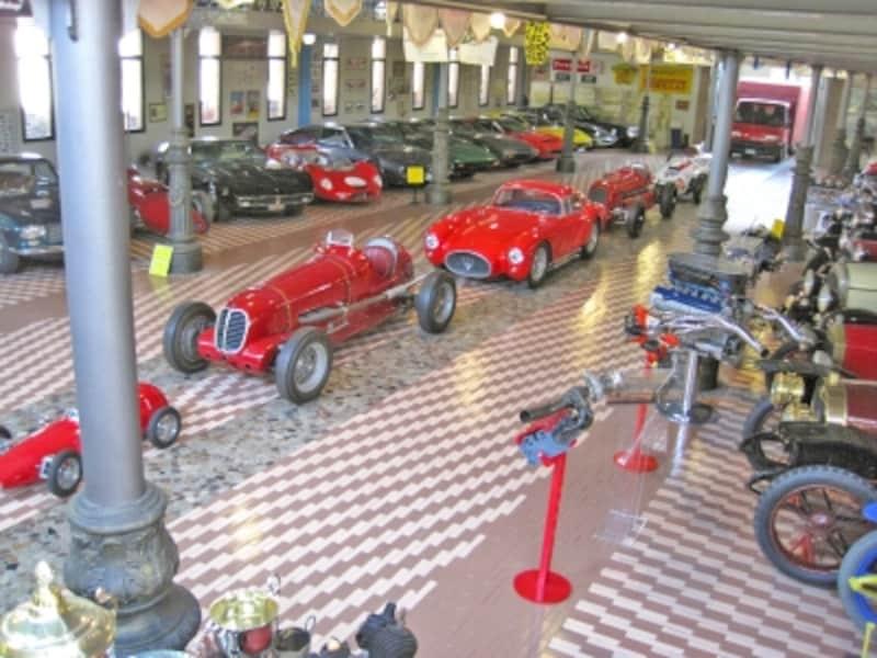ウンベルト・パニーニ・コレクション自動車博物館のマセラティ