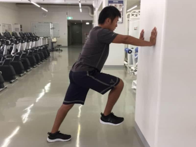 腿上げの練習