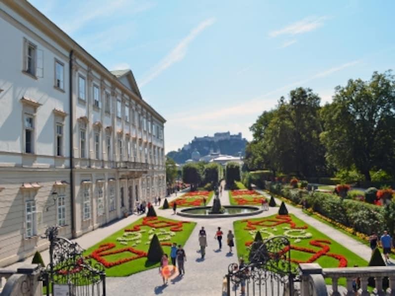 ミラベル宮殿と庭園