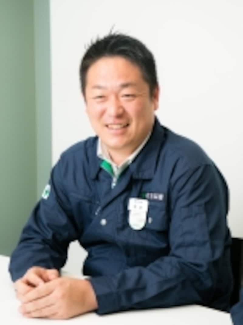 住友林業株式会社住宅事業本部生産統括部マネージャーundefined菊地俊宏さん