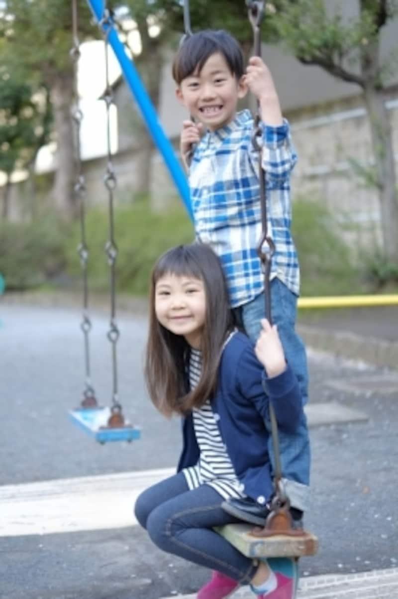 友達と仲良く遊べるのも成長の証。