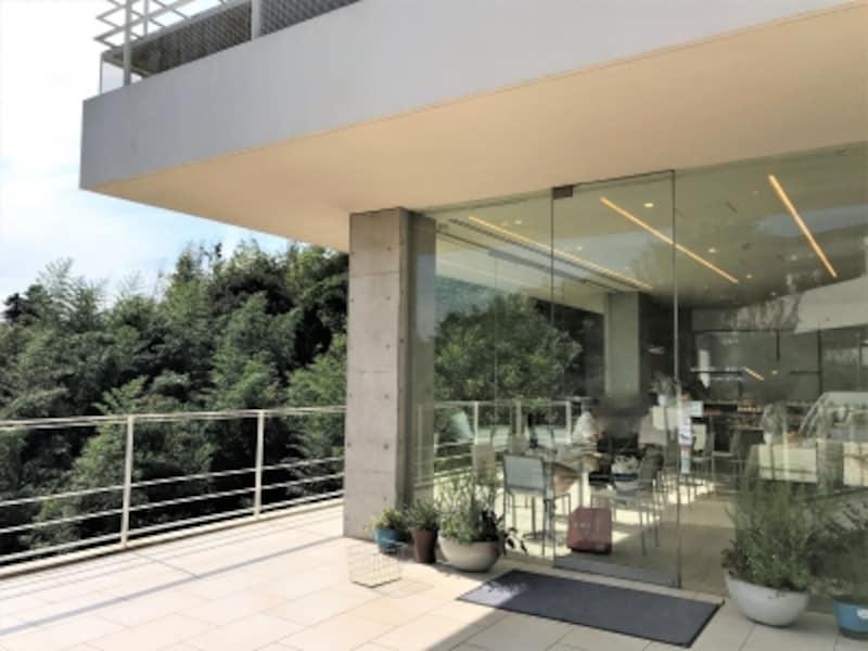 階段を下りて右手にお店があります。左手は厨房です。