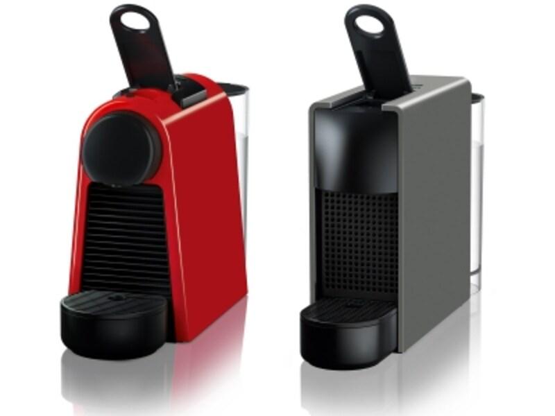 エッセンサミニDシリーズ(写真左)とエッセンサミニCシリーズ(写真右)
