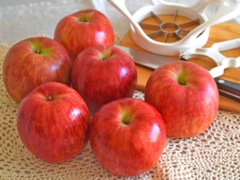 リンゴの剥き方