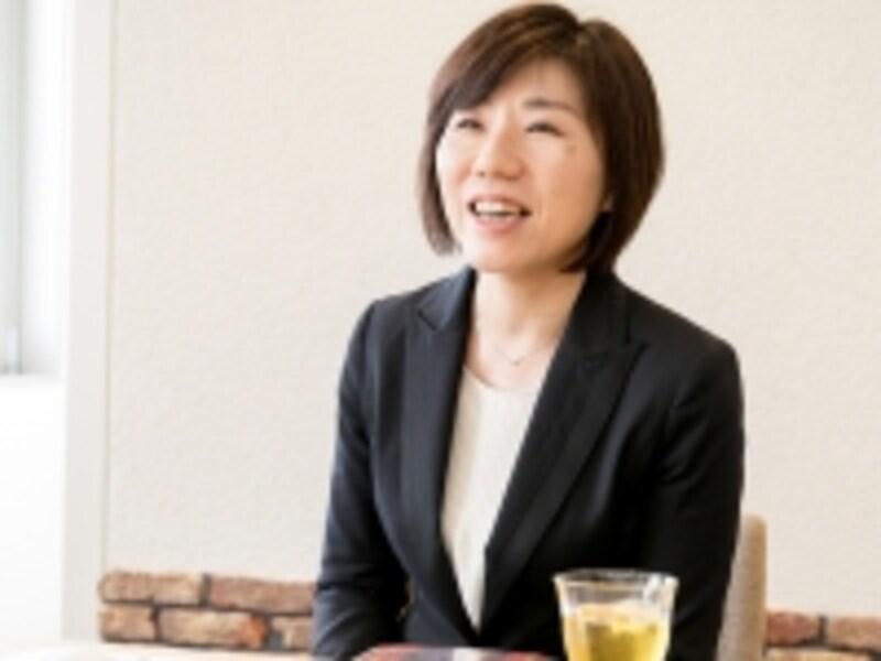 """東京オーナーサポート部undefined東京リフォーム営業室undefined田中夏美さん。「""""メンテナンスやリフォームをしてよかった""""と感じて頂きたいと思い、お客様の立場に立って、住まいや暮らしをよりよくできるご提案を考えています」"""