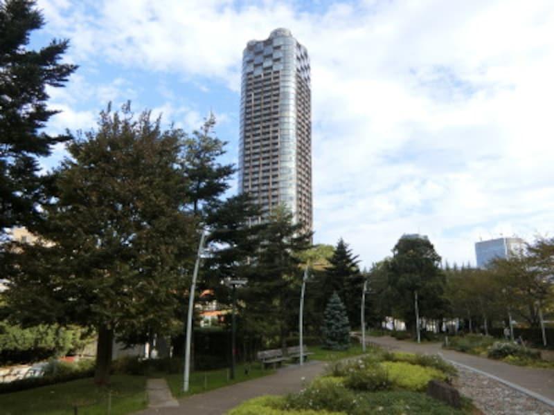 「パークコート赤坂檜町ザタワー」の外観