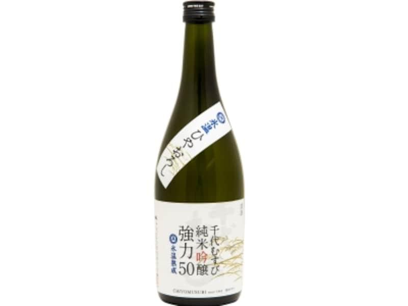 千代むすび純米吟醸強力50氷温ひやおろし(千代むすび酒造)