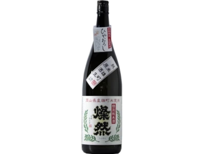 燦然undefined特別純米undefined雄町undefinedひやおろし生詰原酒undefined(菊池酒造)