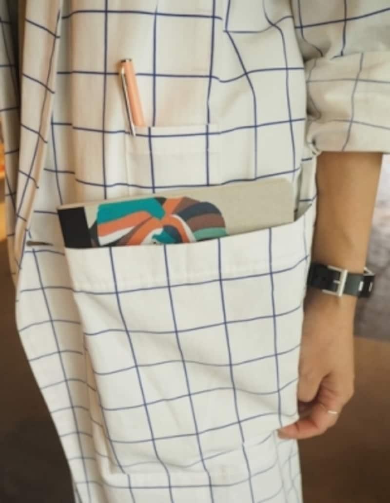 このポケットがミソです。