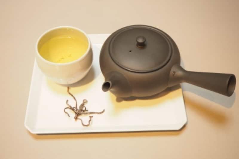 とても美味しいお茶でした。今後は茶器もプロデュースしたいそう。