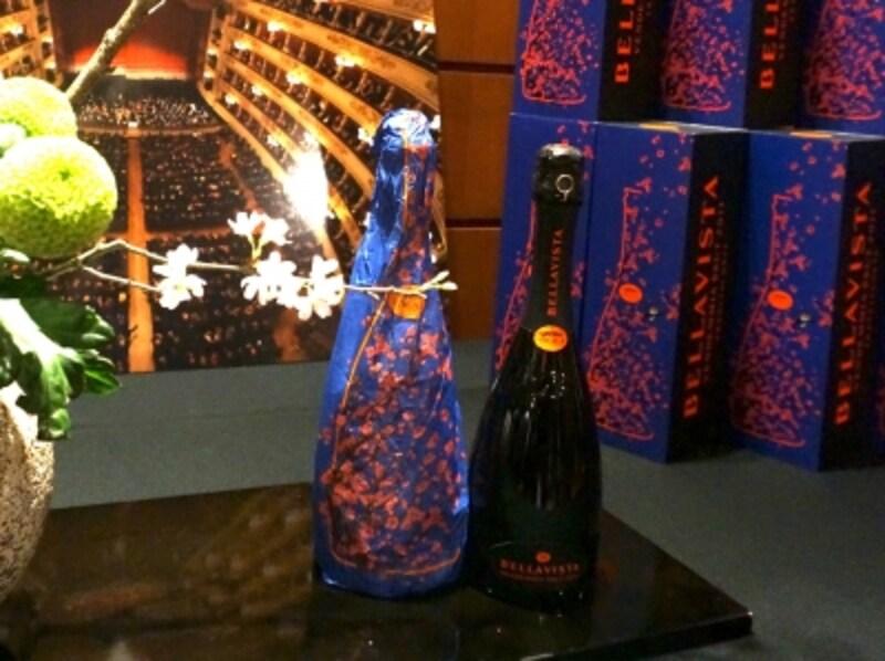 「ベラヴィスタ ブリュット・テアトロ・アッラ・スカラ・エディション」このパッケージは2016年末バージョンの2011年ヴィンテージ