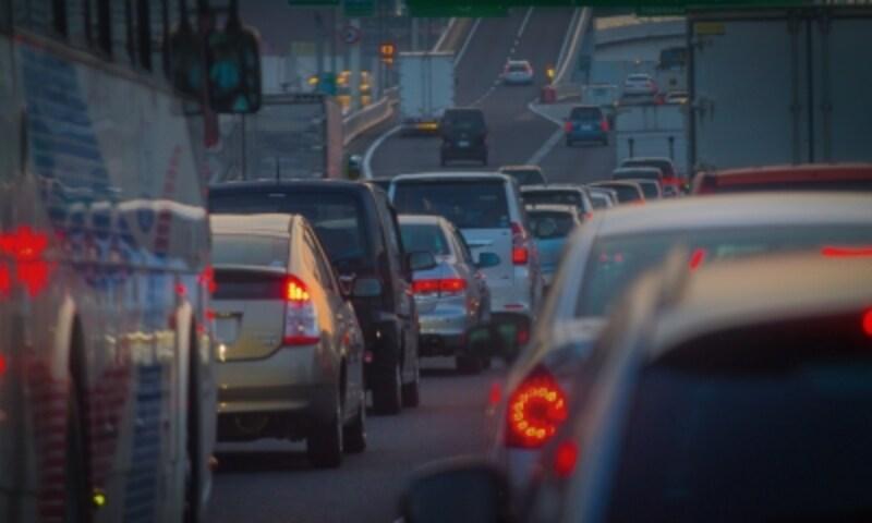 高速道路の渋滞