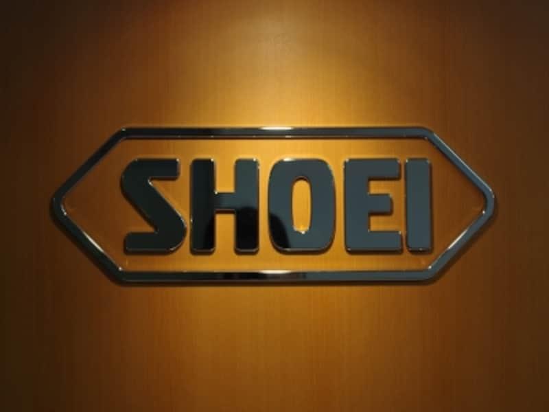 SHOEI本社に伺った際にロビーで撮影