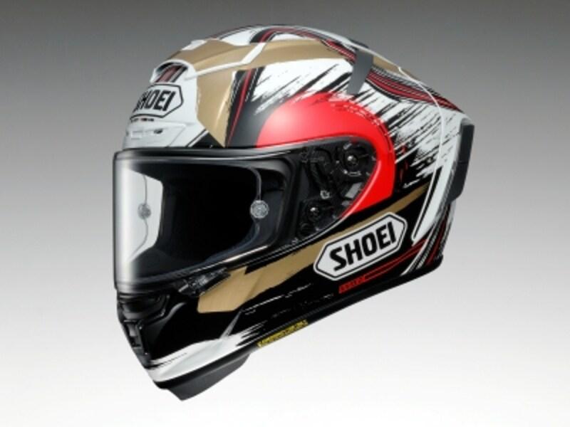 SHOEIundefinedX-FourteenMARQUEZMOTEGI2undefinedマルク・マルケス選手日本GP仕様のレプリカヘルメット