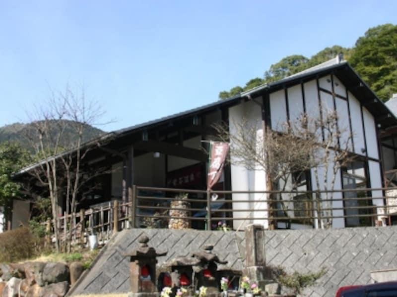 柴石温泉外観