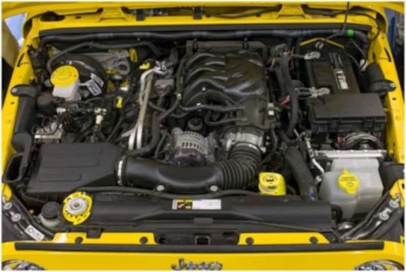 写真1エンジン上部