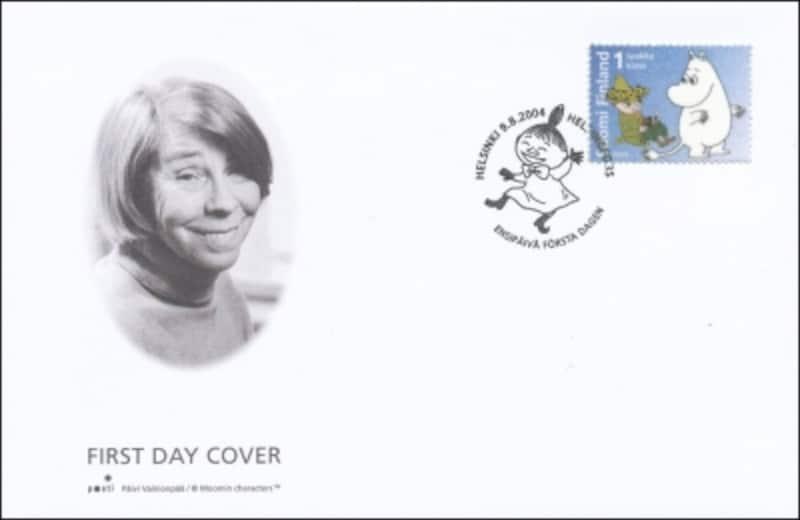 ムーミン切手の初日カバー2004年