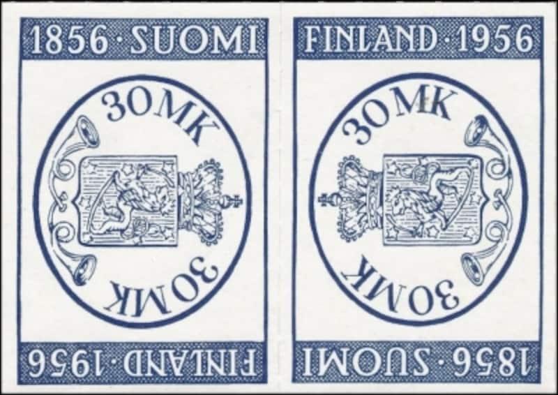 フィンランド最初の切手100年
