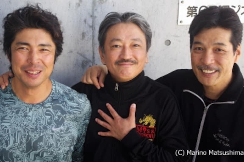 (左から)井上一馬さん、駒田一さん、宮川浩さん(C)MarinoMatsushima