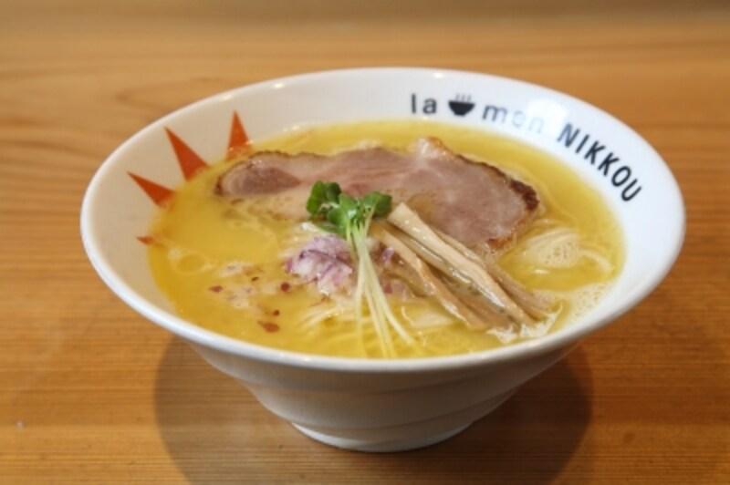 【滋賀】燻製チャーシュー鶏白湯塩(ラーメンにっこう)/TRS2017第1幕-14