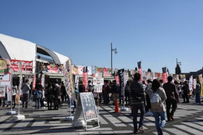 東京ラーメンショーの効率的な回り方