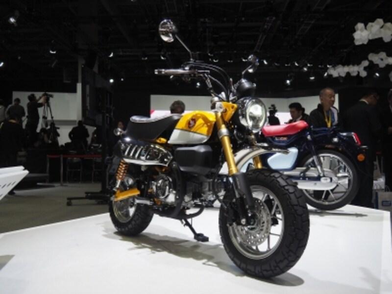 125ccになって復活するか?モンキー125