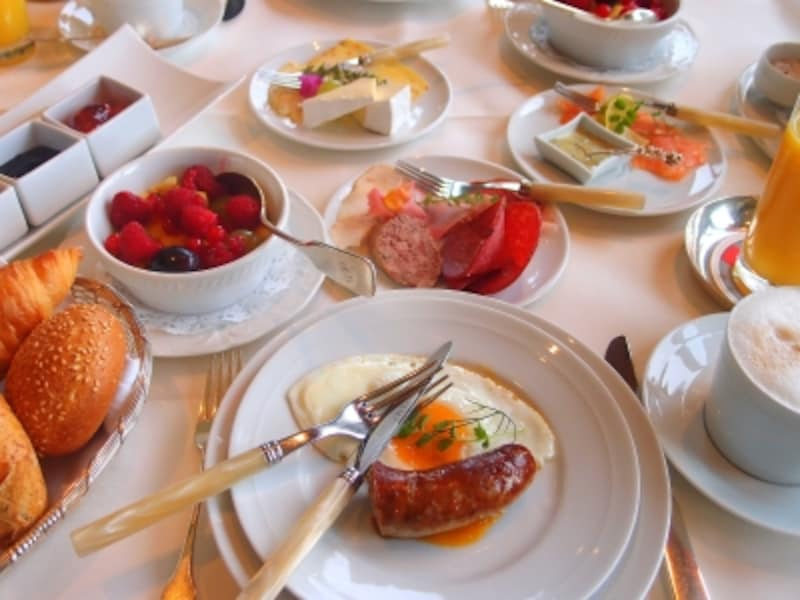 ザバブルク城のレストラン