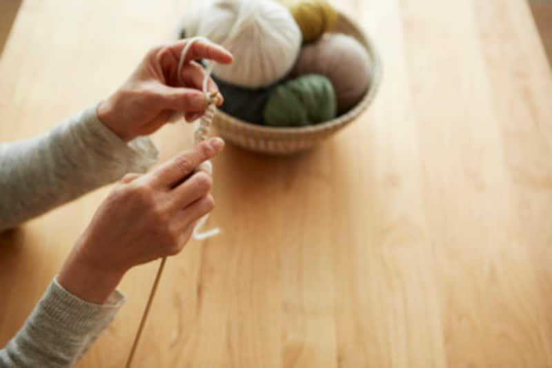 かぎ編みマフラーの編み方