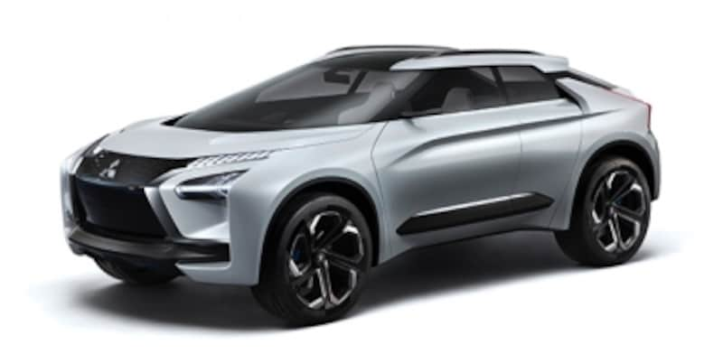 三菱自動車の「eエボリューション」も素晴らしいデザイン