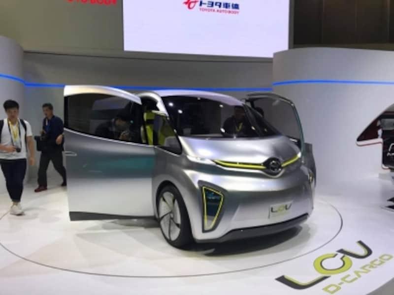 トヨタの商用車コンセプト「LCV」、写真のモデルも含めて3つのコンセプトモデルを展示