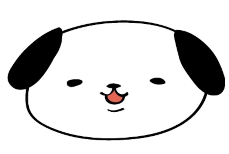 年賀状 犬 いぬのかわいい無料イラスト素材 Web素材 All About