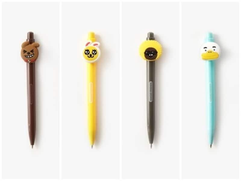 お値段もお手ごろで、かさばらず軽い!ボールペンはお土産としても優秀アイテムです!【韓国のおすすめお土産】