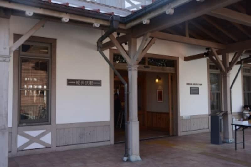 旧駅舎入口