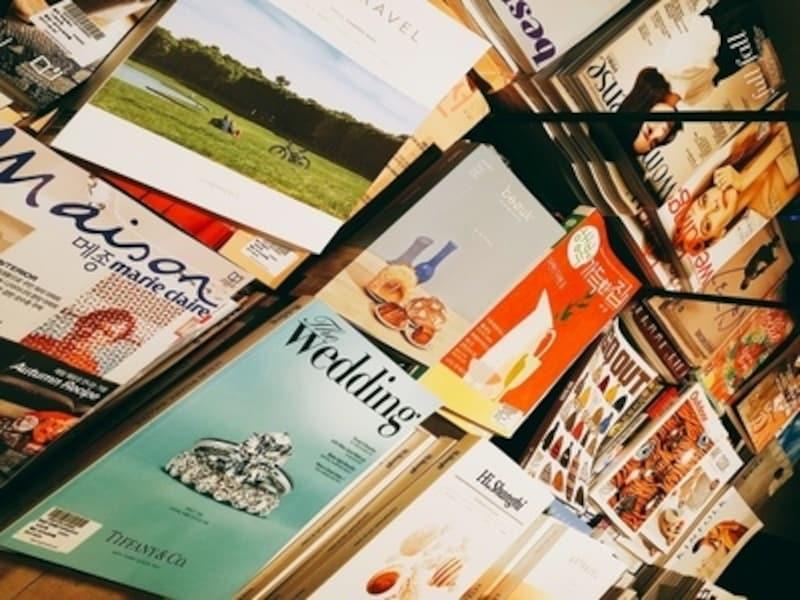 韓国の流行を知りたいなら役にたつのもまた雑誌。日本とは違うスタイルの雑誌も多いので面白いかも【ソウルのおすすめお土産】