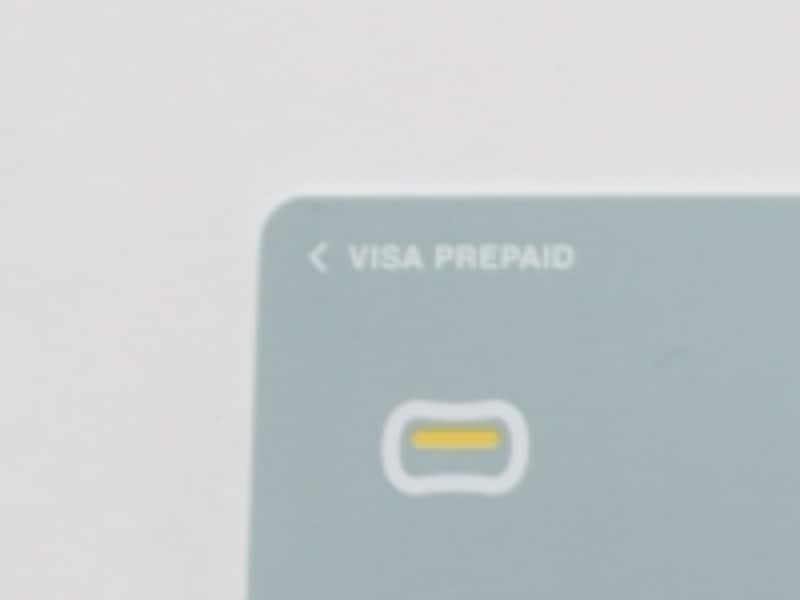 プリペイドカードは「PREPAID」と表記がある