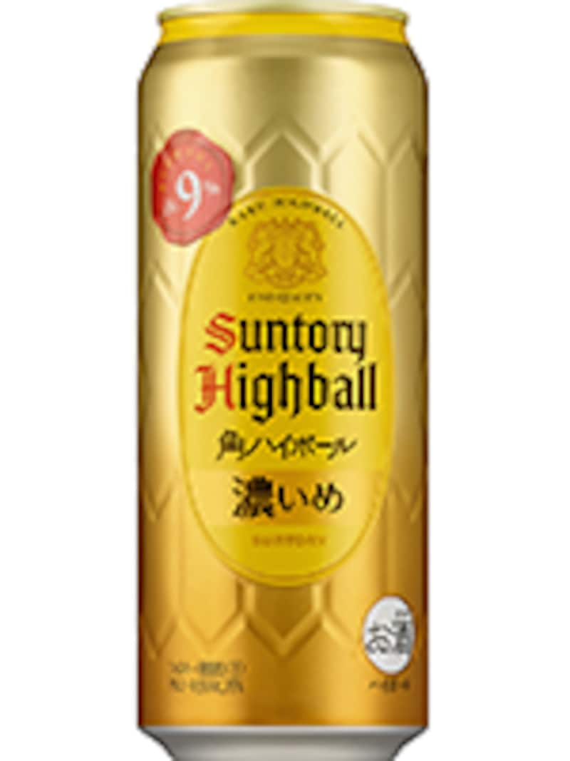 角ハイボール缶<濃いめ>500mlコンビニ限定品