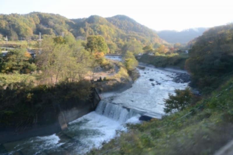 千曲川の上流