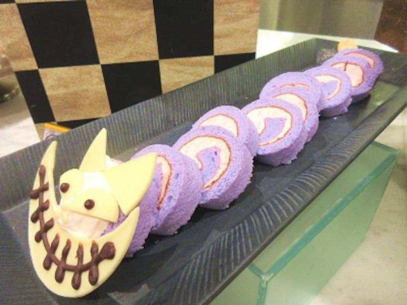 京王プラザホテルチェシャ猫ロールケーキ
