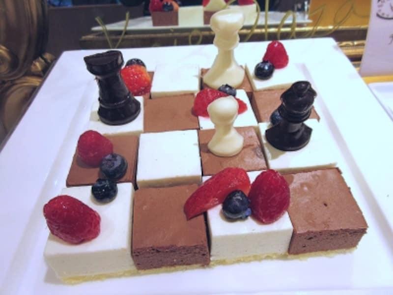 京王プラザホテルチェス盤ムース